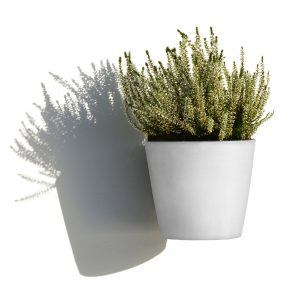 ECOPOTS Amsterdam Wall hanging flower pot White